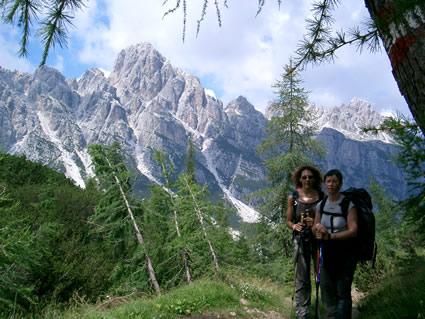 Il trekking dei fiori e delle grandi pareti
