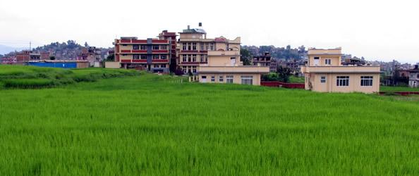 L' ambulatorio De Marchi a Kirtipur