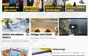 Benvenuto, blog-magazine altitudini.it