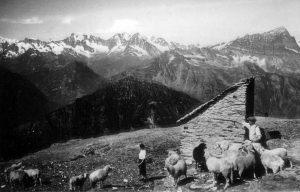 Giovanni Leoni e il rifugio al Cistella