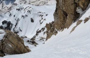 Pallottole di neve sul Gran Sasso