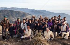 Dawa Nurbu, bambino sherpa nato a Damar