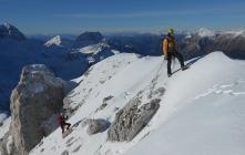 La cresta del Golovec