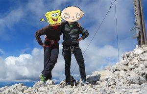 """In montagna per """"slogarsi"""". Non la caviglia"""