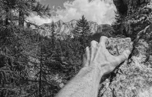 Quel semplice gesto chiamato arrampicata