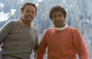 Loris De Moliner, alpinista e tenore della Schiara